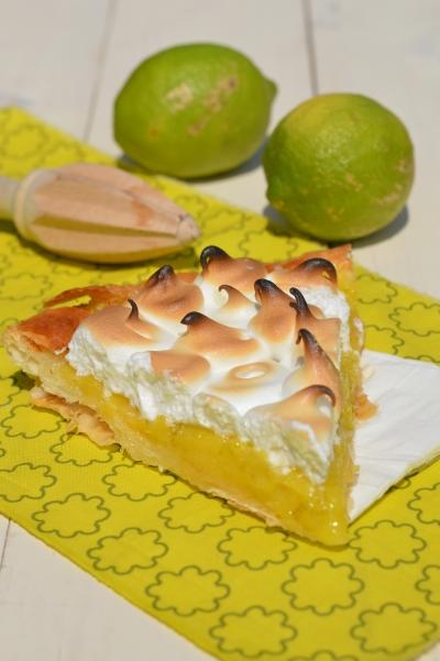 Lemon-pie à la meringue, tarte au citron meringuée, tarte au citron, meringue, citron