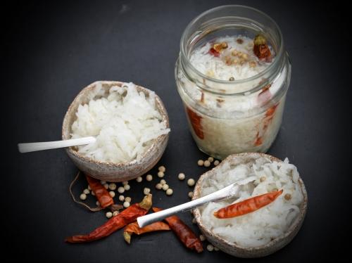 radis blanc en condiment,la cocotte,la voix du nord