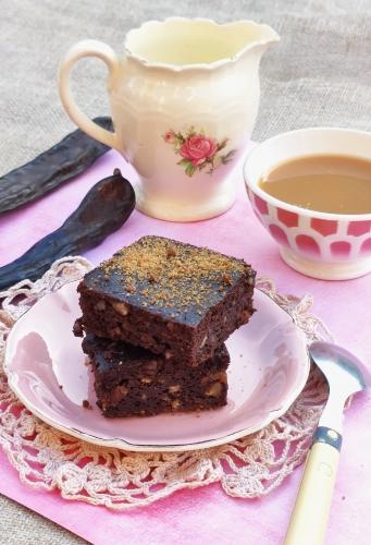 brownie à la farine de caroube,raisins et noix de pécan,la cocotte,la vie en bleu,france bleu nord