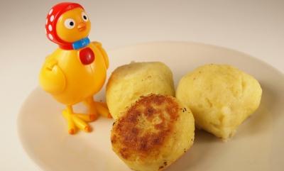 boulettes de pommes de terre, Knödel, kartoffel Knödel