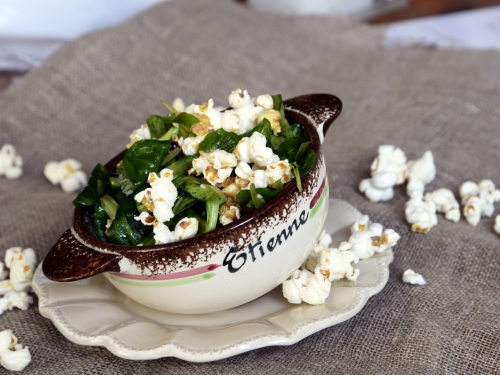 Pop-salade de mâche, mâche, pop-corn, Etienne Daho, la Cocotte, la voix du nord