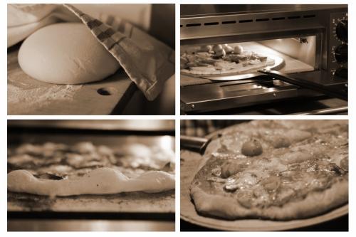 pizza aux anchois frais,pizza,anchois,tomates-cerises