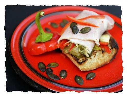 Salade tiède aux pépins de courge, poireaux, pépins de courge, la Cocotte, la voix du nord