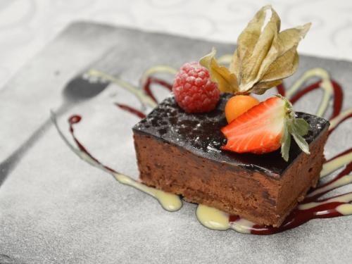 Croustillant praliné chocolat au genièvre de Houlle, Philippe Loisel, Ferme Loisel, Houlle