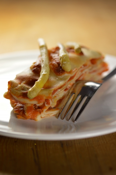 Lasagne aux asperges, lasagne, asperges