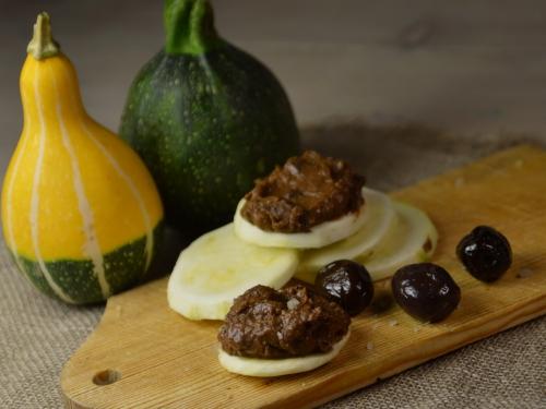 Tapenade d'olives noires et 3 idées, tapenade d'olives noires