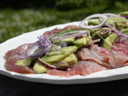 Carpaccio de thon au wasabi, thon, wasabi, la Cocotte, la Voix du Nord