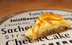 apple cheesecake, gâteau aux pommes, gâteau au fromage