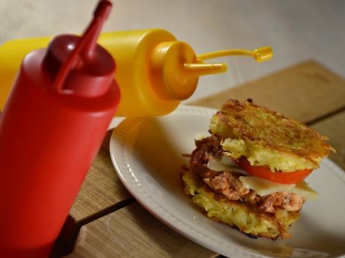 Petits bourgeois poulet-merguez, poulet, erguez, pommes de terre