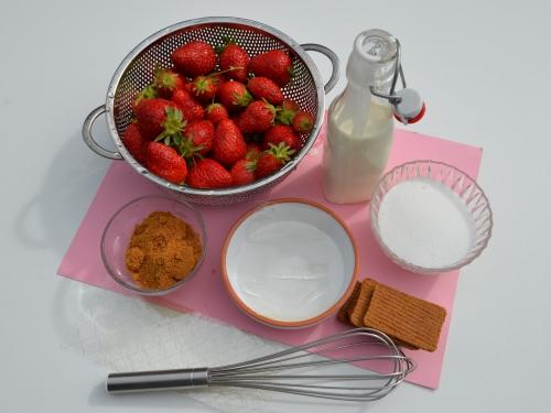 Bavarois aux fraises, la cocotte, la voix du nord
