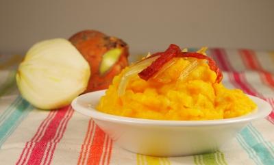 mousseline pommes-potiron, pommes, pommes de terre, potiron, butternut, courge butternut