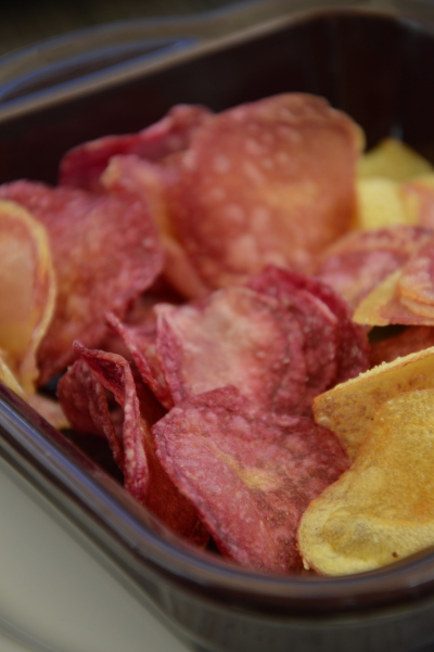 Chips toucouleur, chips, pommes de terre Rouge des Flandres, rouges des Flandres, pommes de terre Cirielle, Cirielle
