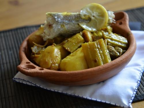 Tajine de cardons et pommes de terre, cardons, pommes de terre, la Cocotte, la Voix du Nord