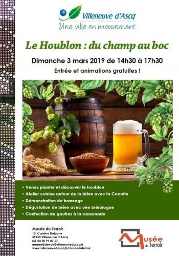 Musée du terroir de Villeneuve d'Ascq, la Cocotte cuisine à la bière, la cocotte