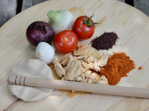 Dürüm poulet-sumac, la cocotte, la voix du nord