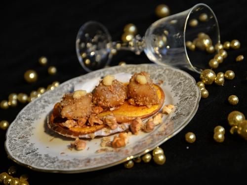Saint-Jacques aux chips de butternut, la cocotte, la voix du nord