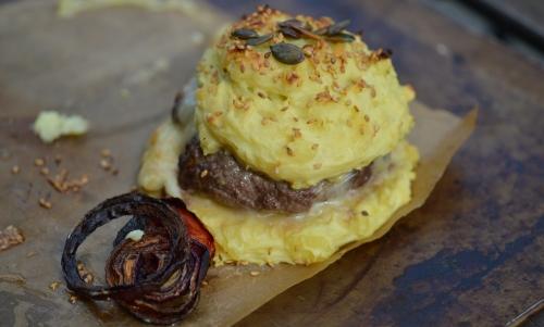 Patate hamburgers, hamburger, pommes de terre, Je crée mes cadaux gourmands, éditions Terre Vivante