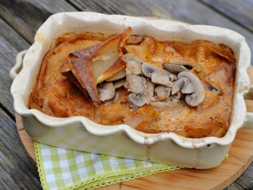 Lasagnes aux champignons, la cocotte, la voix du nord