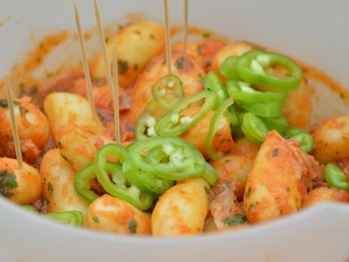 Salade de pommes de terre au piment