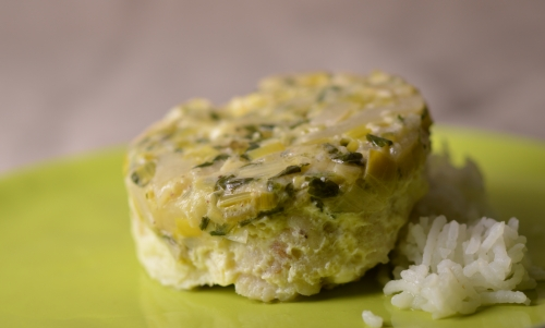 timbale de colin au chourave, colin, chourave