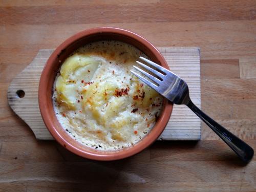 Pommes de terre au flan de Maroilles, la cocotte, la voix du nord