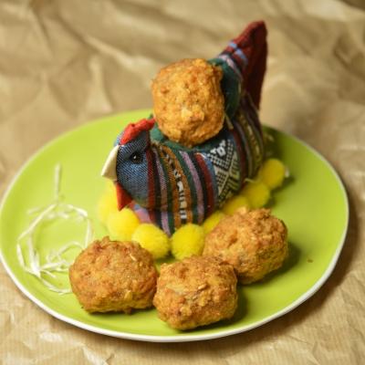 Œufs de Pâques façon Cocotte, Oeufs de Pâques, oeufs, flocons d'avoine, poule