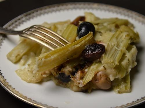 Cardons aux olives, cardons, olives