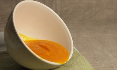 velouté de carottes à la marocaine, velouté de carottes, velouté, carottes
