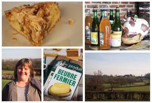 farmcake au beurre salé, Véronique Painchart, Ferme du pont de l'écluse, Rainsars, beurre salé, beurre, Femina, la Cocotte, Odile Bazin, la Voix du Nord
