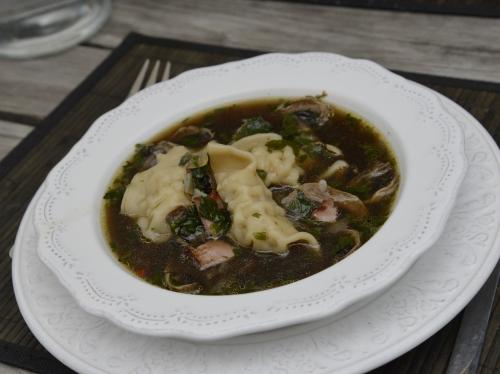 Potage champignons soja, la cocote, la voix du nord