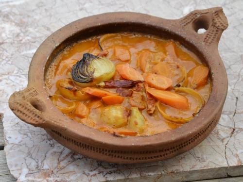 Oignons-carottes à la caouète, la cocotte, la voix du nord