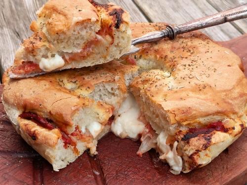 Mozza-tourte tomates et oignons, la Cocotte, la Voix du nord