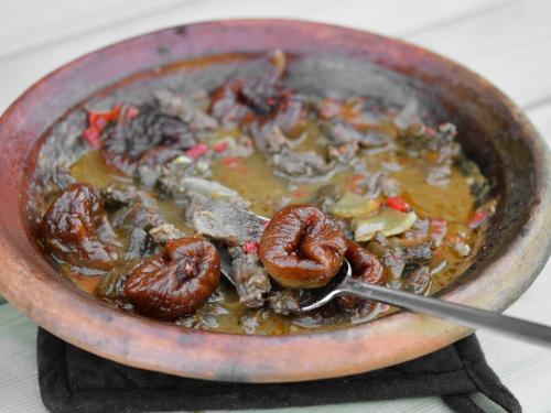 Tajine bœuf et figues, tajine, boeuf, figues, figues séchées