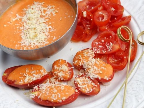Tomates à la crème de poivrons, tomates, poivrons, la Cocotte, la voix du nord