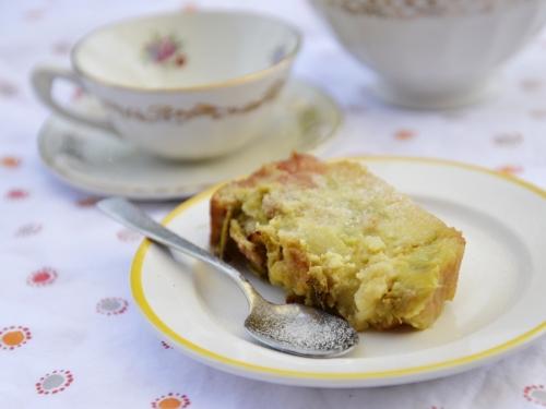 Cake moelleux à la rhubarbe, cake, rhubarbe, la cocotte, la voix du nord