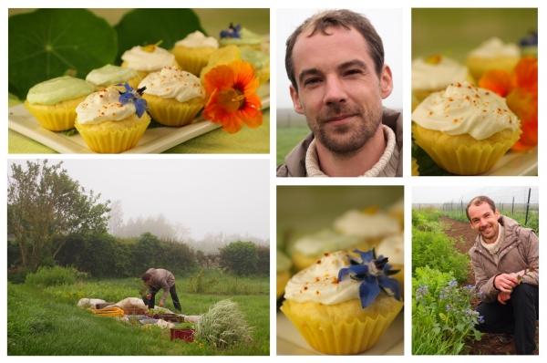 mini-cupcakes aux fleurs,loïc boulier,bourrache,capucines,femina,la voix du nord,la cocotte,odile bazin