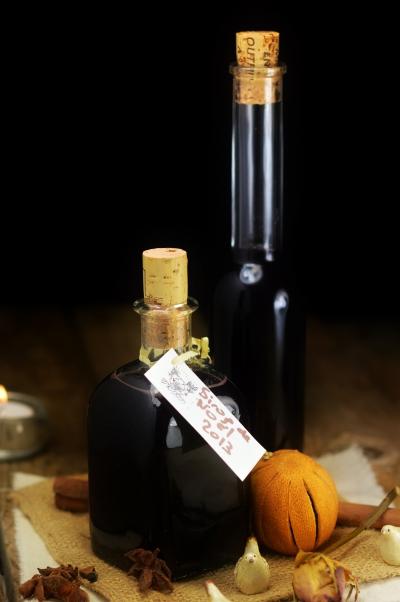 Sirop de Noël, vin rouge, cannelle, oranges, vin chaud, cardamome, anis étoilé