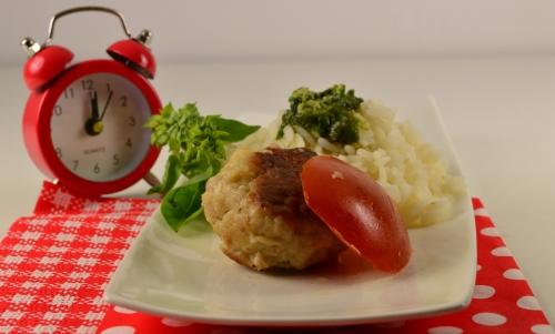 boulettes-minute et pistouriz, boulettes, pistou, riz, basilic