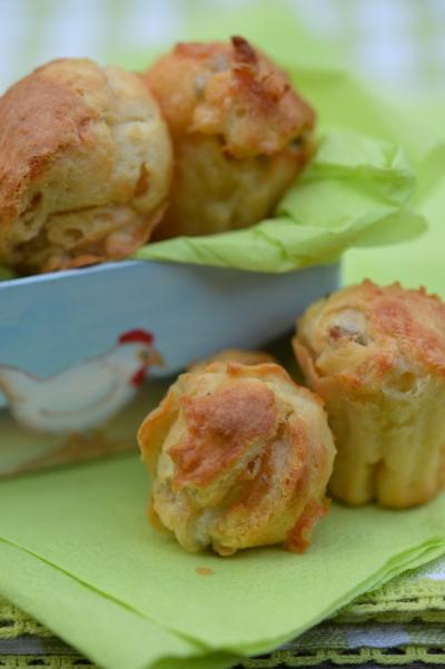 Mini-cakes au gorgonzola, cakes, gorgonzola