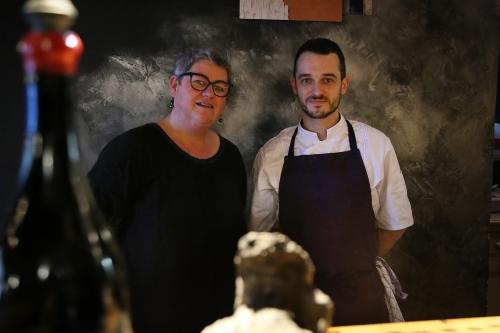 Chou farci du chef Simon Pagès du restaurant le Gabbro à Lille, Simon Pagès, le Gabbro