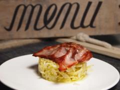 pomme de terre, céleri, bacon