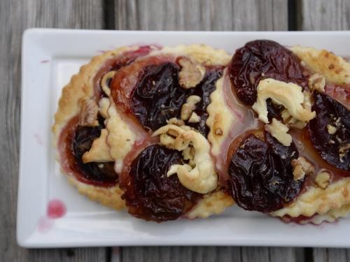 Tartelettes prunes et miel, prunes, miel, la Cocotte, la voix du nord
