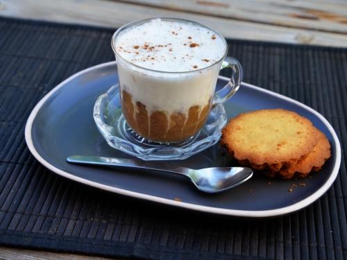 Cappuccino-coco à la rhubarbe, la cocotte, la voix du nord