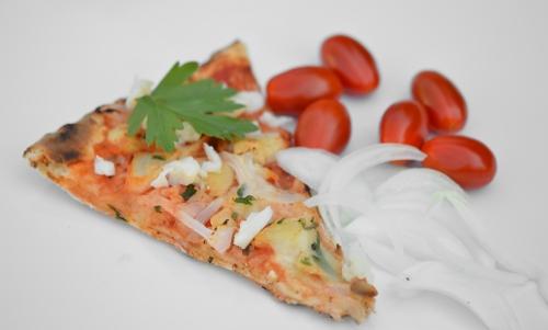 Pizza Lisboa, pizza, morue
