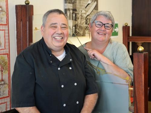 Rognons de veau gingembre et miel de Stéphane Boitaux, chef du « Gourmet » à Caudry, la cocotte, le chef et la cocotte, Stéphane Boitaux, le Gourmet, restaurant le Gourmet, Caudry