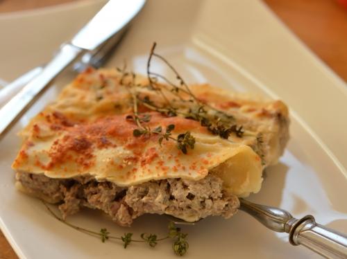 Cannellonis jambon et champignons, cannellonis, jambon, champignons de Paris
