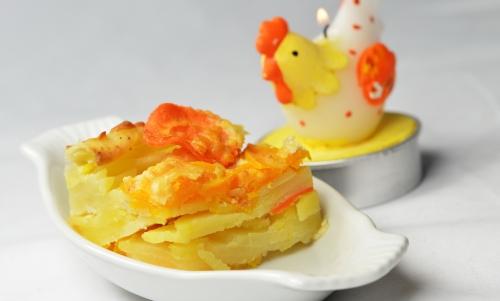 Doubeurre au gratin, doubeurre, courge butternut, butternut, pommes de terre, carottes