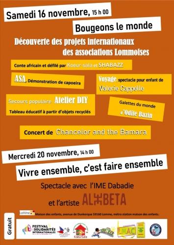 Gâteau de blettes, la cocotte, la voix du nord, festival des solidarités internationales, Lomme