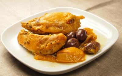 poulet olives et citrons confits, la Cocotte, www.lacocotte.nordblogs.com/
