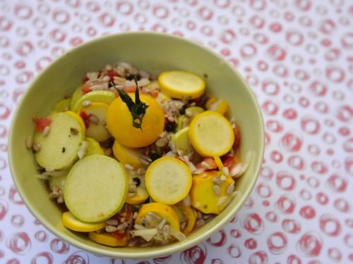 Courgettes en pickles et tomates, la cocotte, la voix du nord